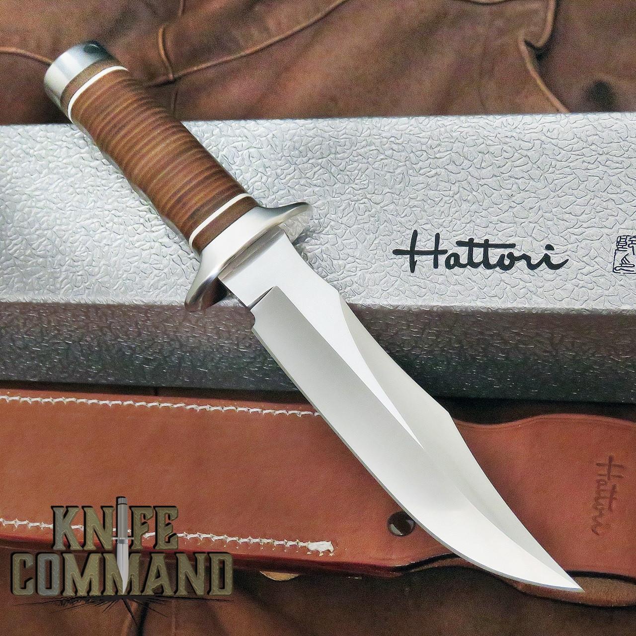 Hattori Knives TV-2 S O G  Style Vietnam Fighter Knife 6-1/4