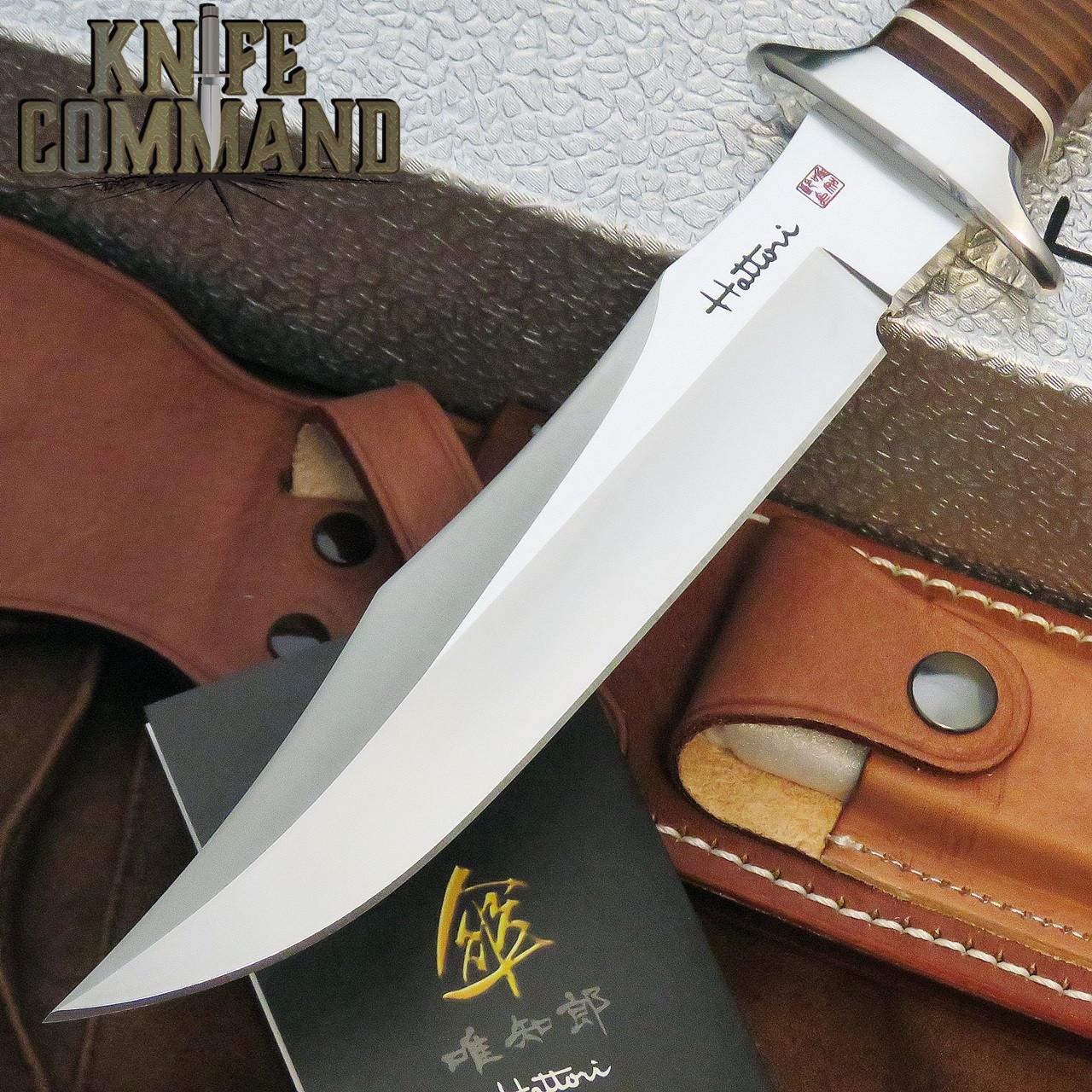 "Hattori Knives TV-2 S.O.G. Style Vietnam Fighter Knife 6-1/4"" Blade"