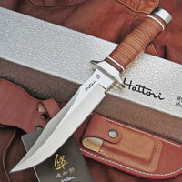 "Hattori Knives TV-2 S.O.G. Style Vietnam Fighter Knife 6-1/4"" Blade"