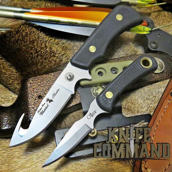 Knives of Alaska Whitetail Hunter Suregrip Hunting Knife Combo 00199FG