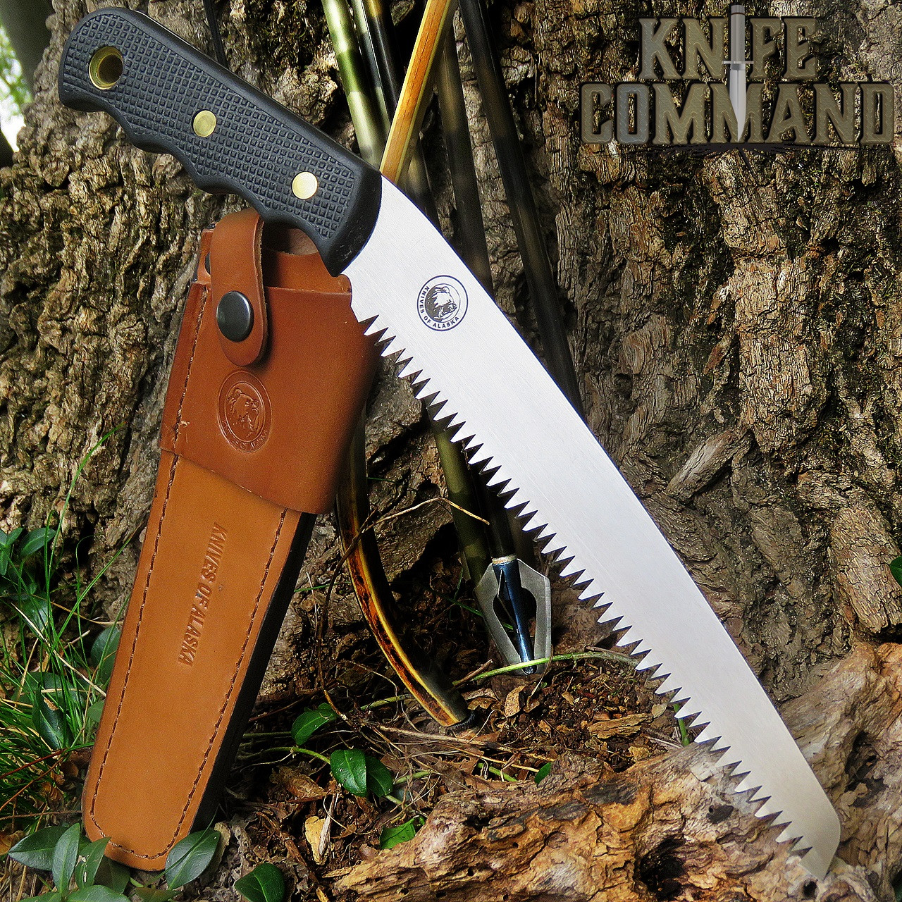 Knives of Alaska Wood Saw for Camping, Hunting, Tree Stands , Duck Blinds, etc. 00111FG