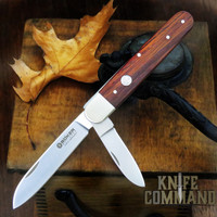 Boker Knives Enigma Model 110031 Cocobolo Pen Blade Release Lockback Pocket Knife