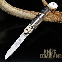 Hubertus Solingen Guardian / No Guard Stag Springer Automatic Knife