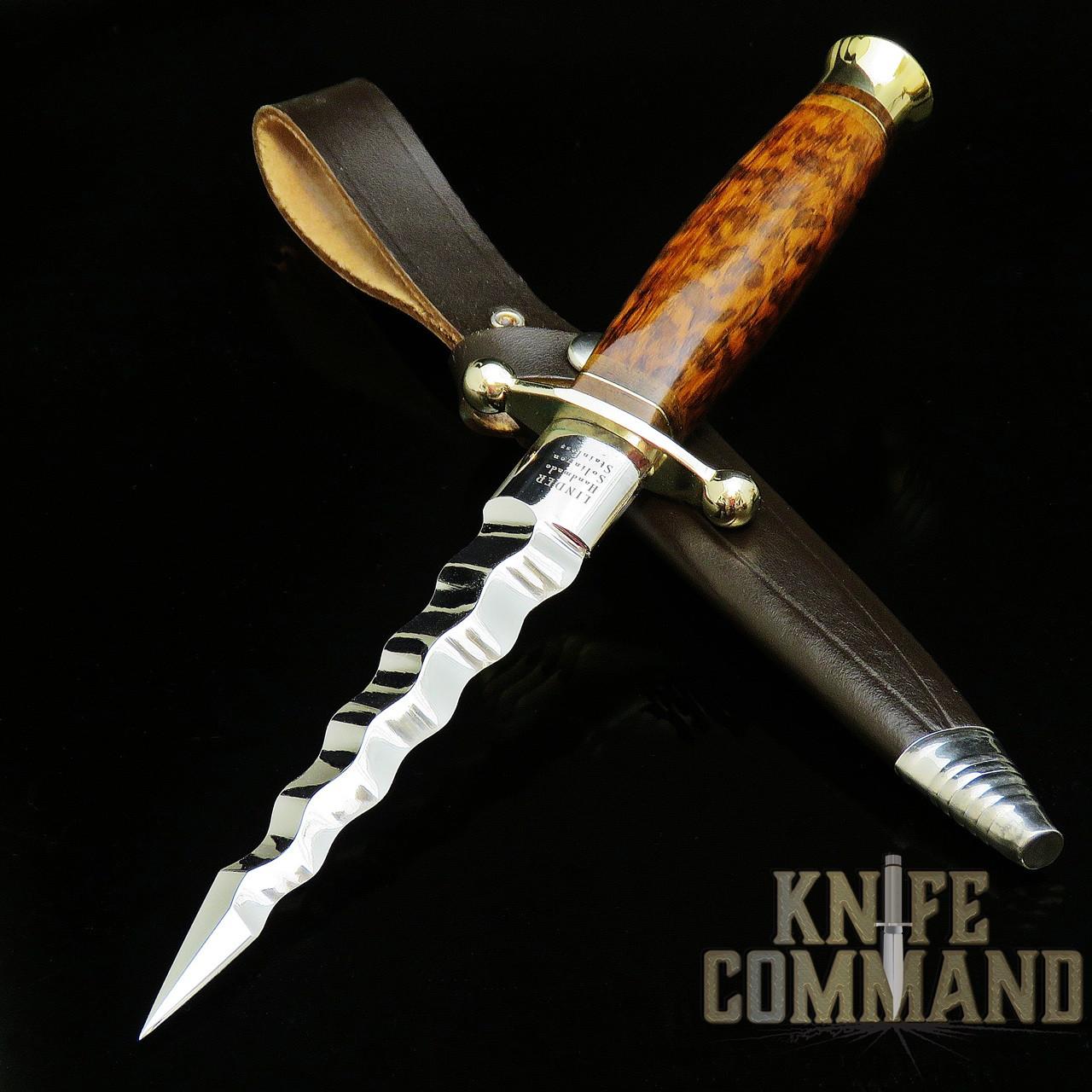 Linder Solingen Snakewood Kris Dagger Knife 218513