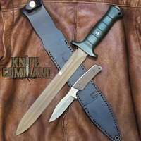 Eickhorn Solingen Waidbesteck Boar Hunter Para 2 GS 2-Knife Set 825252WBOPBR Beryllium Blade Olive Green Handle