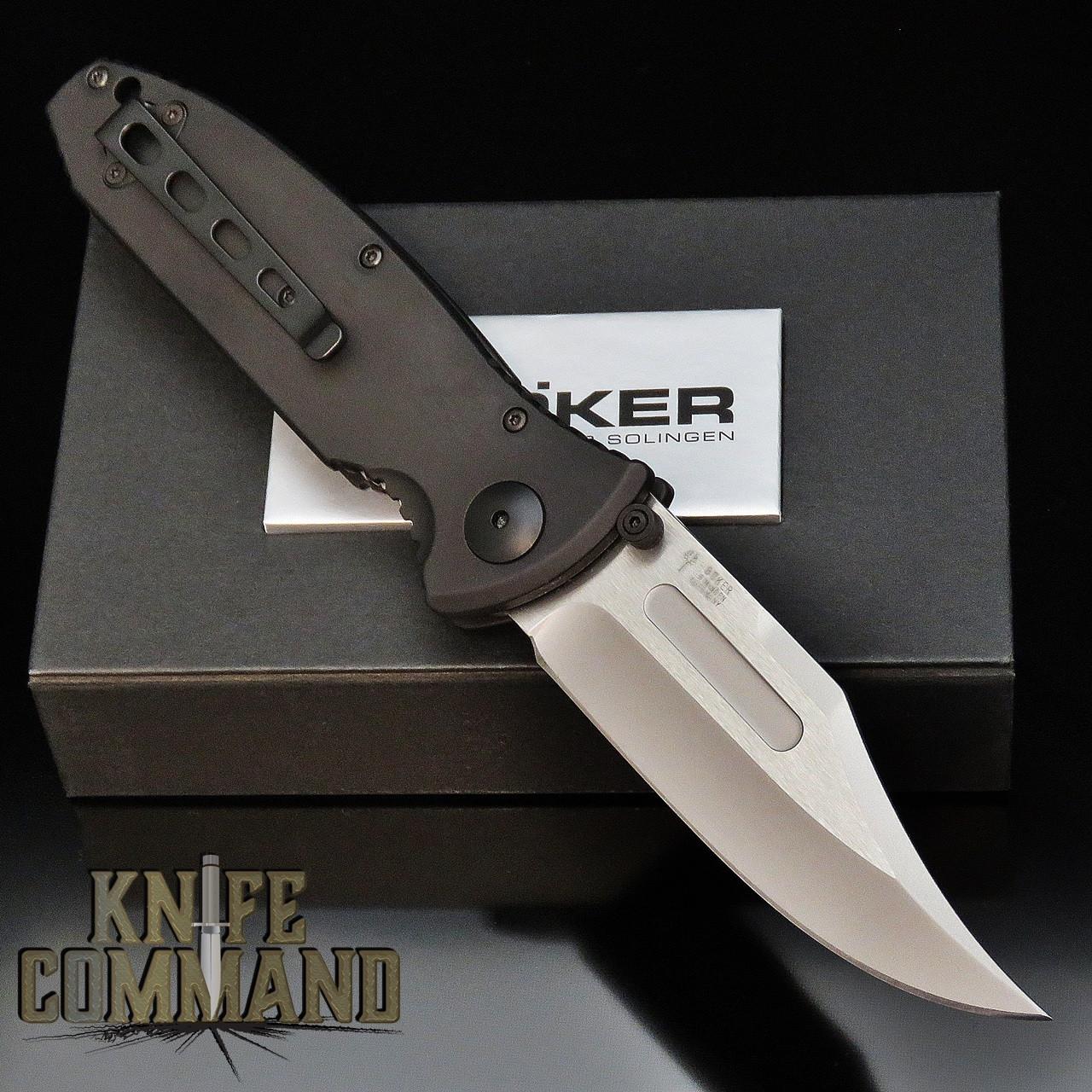 Boker Knives Kalashnikov Duty Model 114037 Black Aluminum Cocobolo AK-47 Pocket Knife