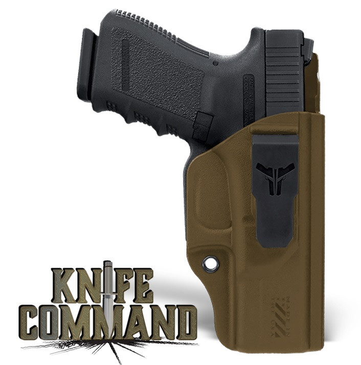 Blade-Tech Klipt Appendix IWB Pistol Gun Holster Dark Earth Concealed Carry Inside Waistband