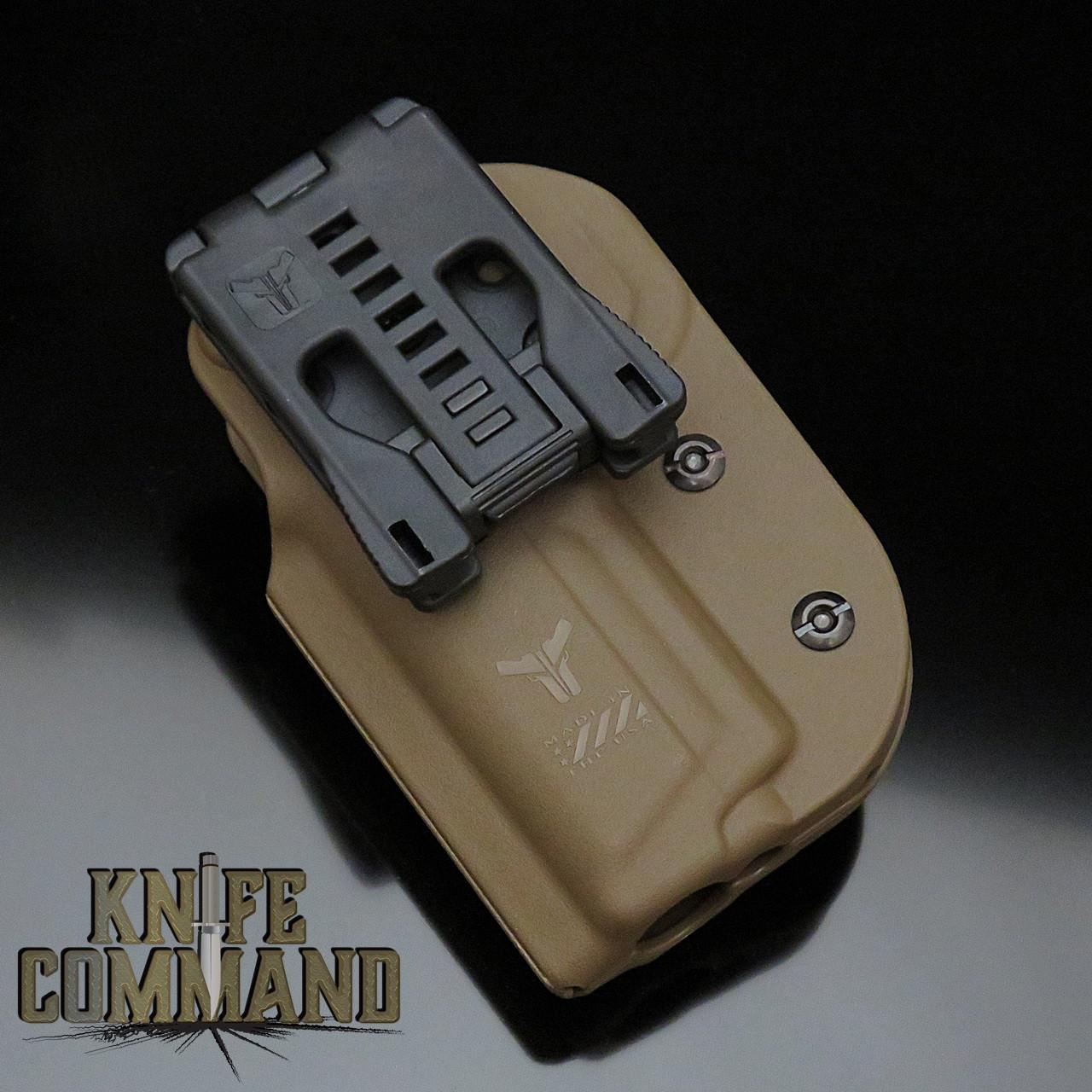 Blade-Tech Signature OWB Pistol Gun Holster Dark Earth RH Outside Waistband