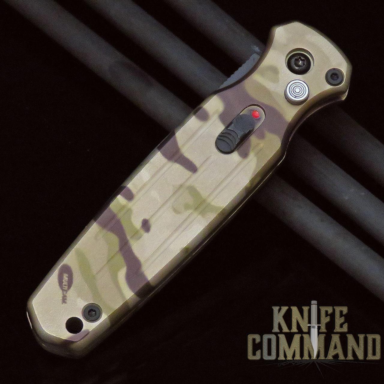 Gerber Mini Covert Automatic Knife, MultiCam® ARID™ Camo, Black CPM-S30V, 30-001620