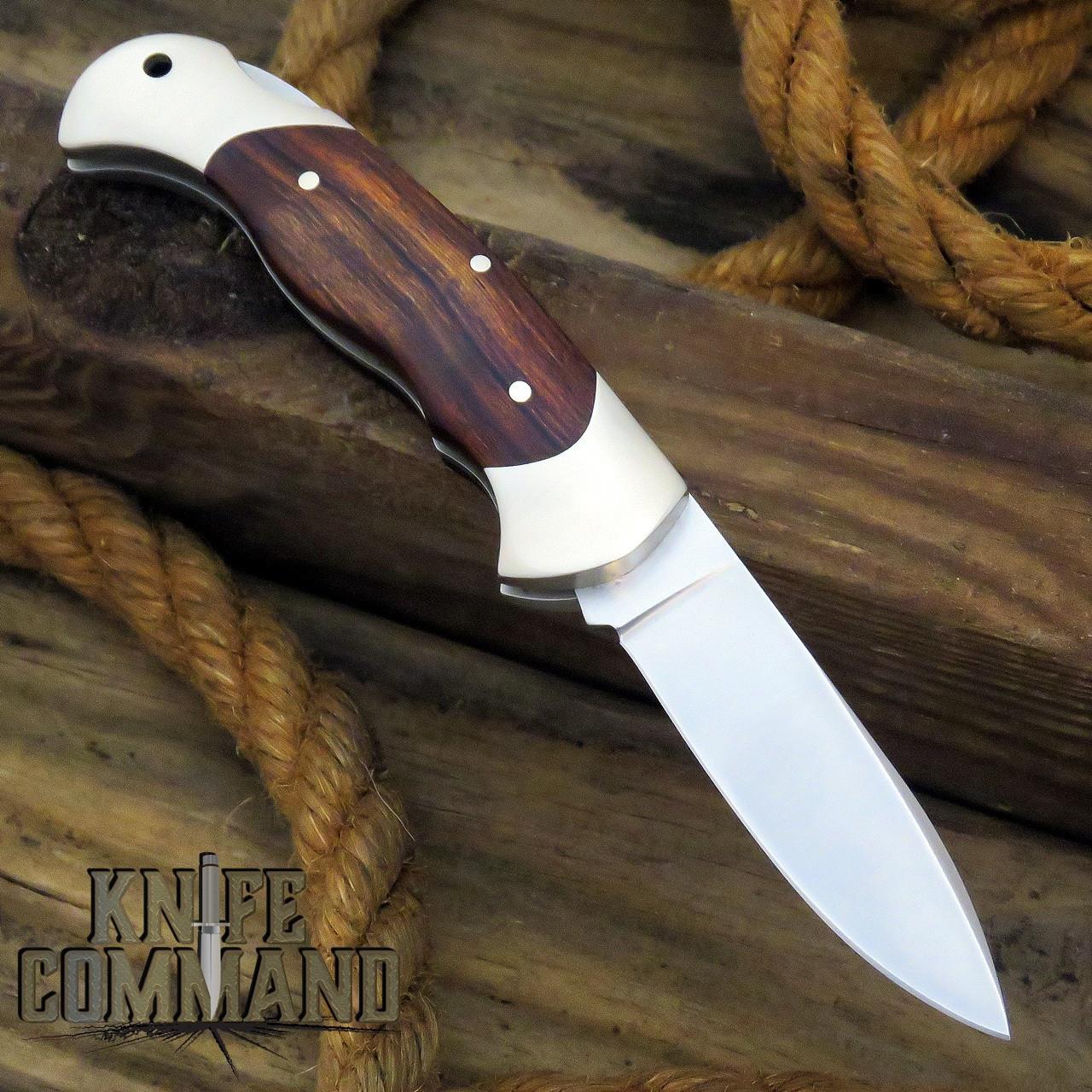 Boker Knives Scout Spearpoint Desert Ironwood Model 112036 Lockback Pocket Knife
