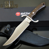 BOKER SOLINGEN BOWIE OAK N690 STAINLESS FIXED BLADE KNIFE 121547