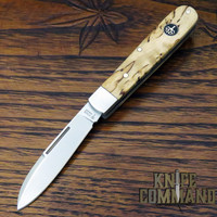 Boker Knives Barlow Prime Model 111942 Curly Birch Wood Slip Joint Pocket Knife