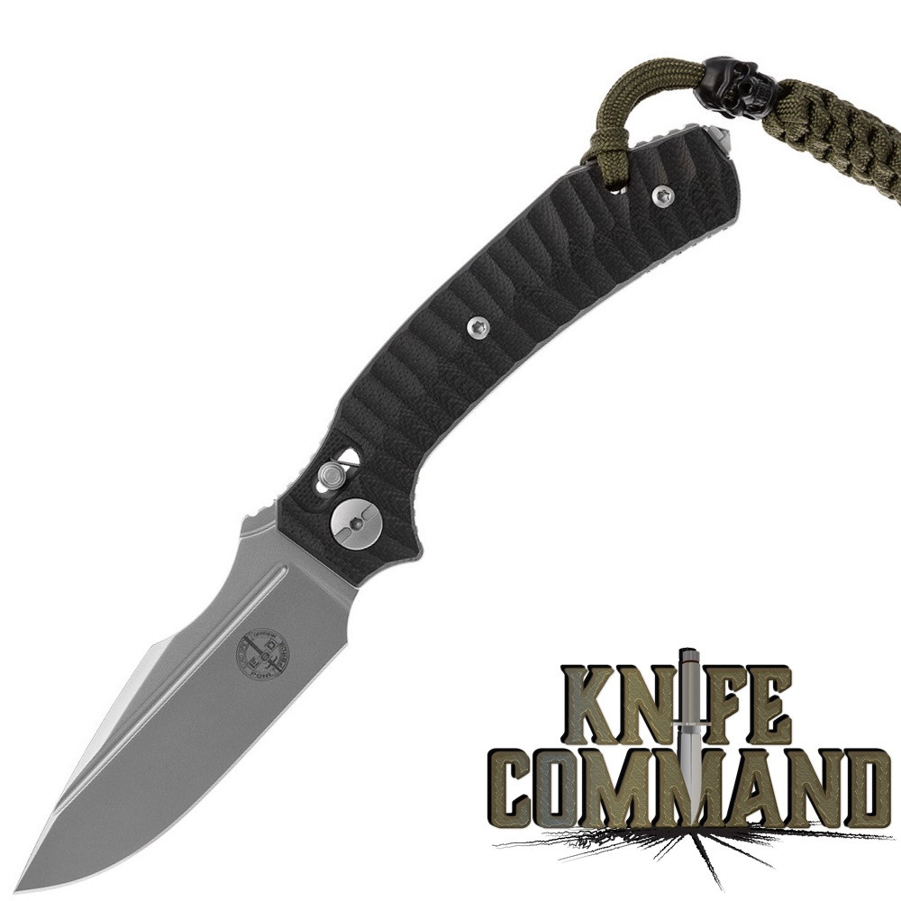 Pohl Force 1100 Force Two Outdoor Nitro-B Folding Knife Black G-10