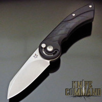 "Fox Knives Radius Black G-10 2.95"" Folding Knife FX-550 G10 B"