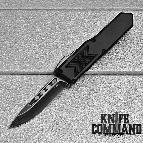 Guardian Tactical GTX-025 OTF Automatic Knife Elmax Dark Stonewash Drop-point 12-3611