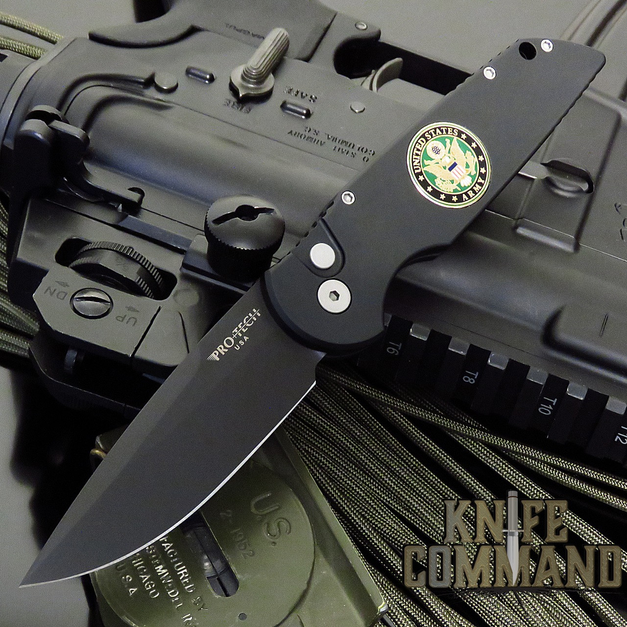 """Pro-Tech Knives Tactical Response 3 TR-3 MIL-A008 US Army Automatic Knife Folder 3.5"""" Blade"""