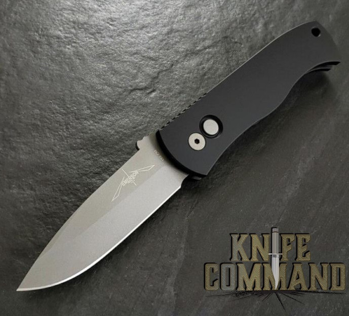"""Pro-Tech Knives Emerson CQC7 A Spear Point Automatic Knife Folder 3.25"""" Bead Blasted Blade"""