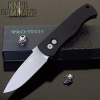 "Pro-Tech Knives Emerson CQC7 A Spear Point Automatic Knife Folder 3.25"" Bead Blasted Blade"