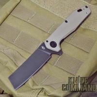 Gerber 30-001836 Fastball Cleaver Coyote Brown 20CV Black Flipper Knife