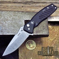 Spartan Blades PALLAS Button Lock Flipper Folder Stone Washed CPM S45VN Blade SF3SW