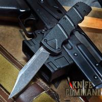 Boker Plus Kalashnikov OTF Automatic Knife Black / Dark Stonewash 06EX350 Cobratec Knives