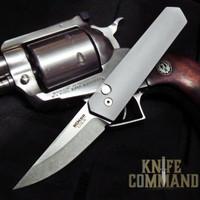 Boker Pro-Tech Burnley Kwaiken Compact Automatic Knife Gray 01BO253