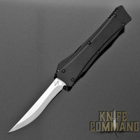 Boker Plus Lhotak Eagle OTF Automatic Knife Black 06EX221 Cobratec Knives