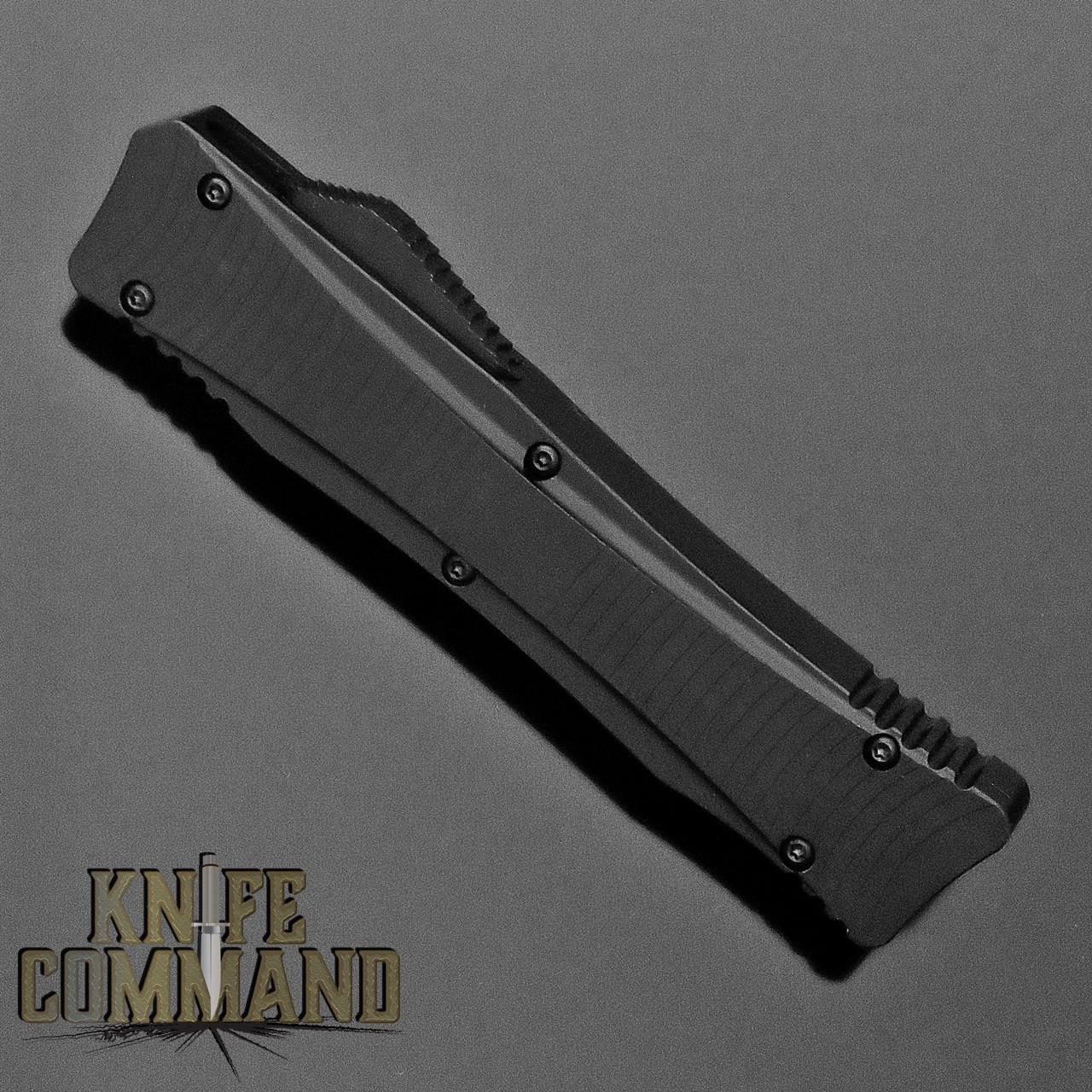 Boker Plus Lhotak Eagle OTF Automatic Knife Black 06EX221 Cobratec Knives
