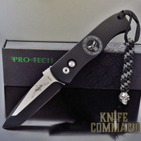"Pro-Tech Knives E7T3 - Punisher Emerson CQC7 A Spear Point Automatic Knife Folder 3.25"" Two Tone Blade"