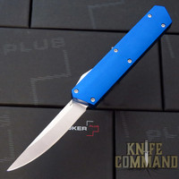 Boker Plus USA Kwaiken Blue OTF Automatic Knife Blue / Satin D2 06EX550 Cobratec Knives