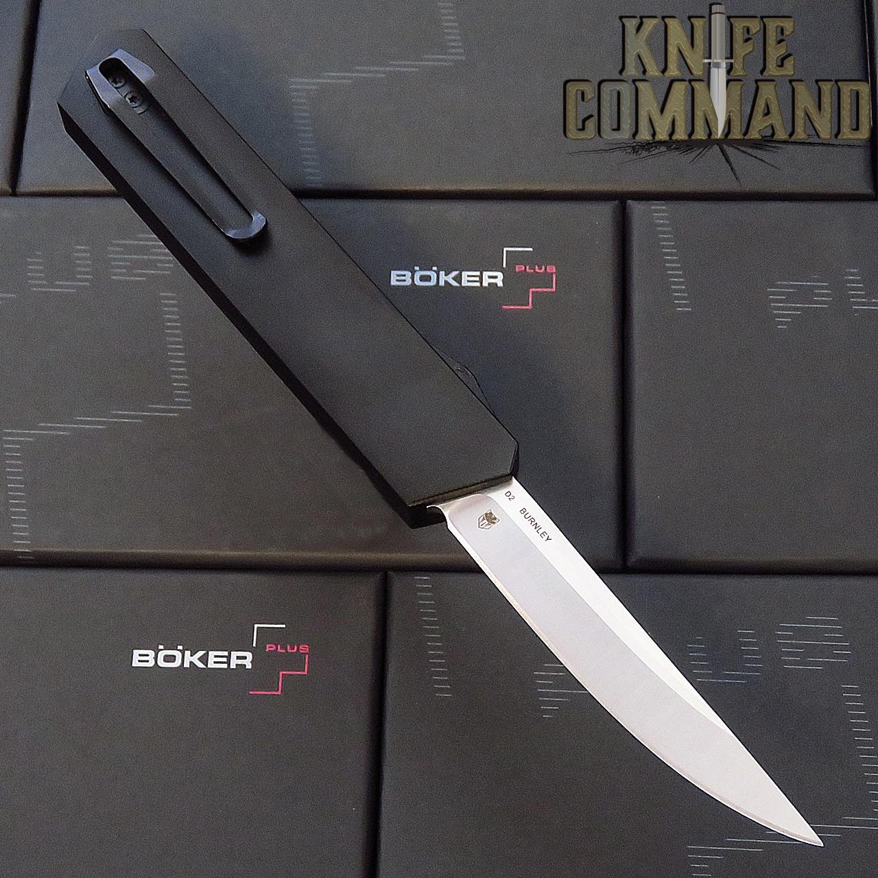 Boker Plus USA Kwaiken Black OTF Automatic Knife Black / Satin D2 06EX551 Cobratec Knives