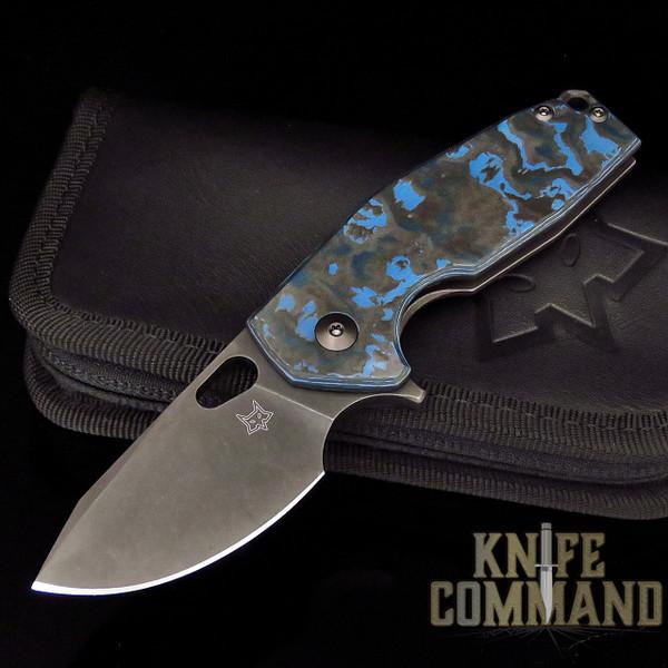 Fox Knives Voxnaes Suru FX-526LECF Arctic Storm Carbon Fiber CPM-20CV Folding Knife