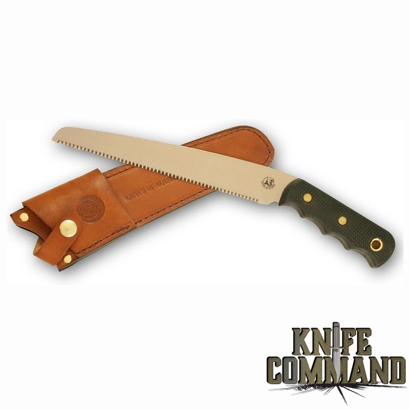 Knives of Alaska Bone Saw for Camping, Hunting, Taxidermy , Game Cleaning, etc. 00110FG
