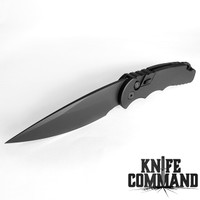 "Pro-Tech Knives Tactical Response 4.3 Operator Automatic Knife Sterile Folder 4"" Blade Tritium Button"