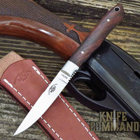 Moki Limited Edition TS-535I Bird and Trout Fixed Blade Knife in Desert Ironwood