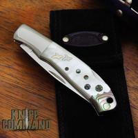 Moki MK-508 Elpis Limited Edition Mother of Pearl and Abalone Premium Lockback Folding Knife