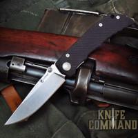 Spartan Blades Talos Harsey Folder Liner Lock Black G-10 Knife SFBL7BK
