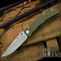 Spartan Blades Talos Harsey Folder Liner Lock Green G-10 Knife SFBL7GR