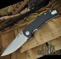 Spartan Blades Astor Les George Folder Liner Lock Carbon Fiber G-10 Knife SFBL8CF
