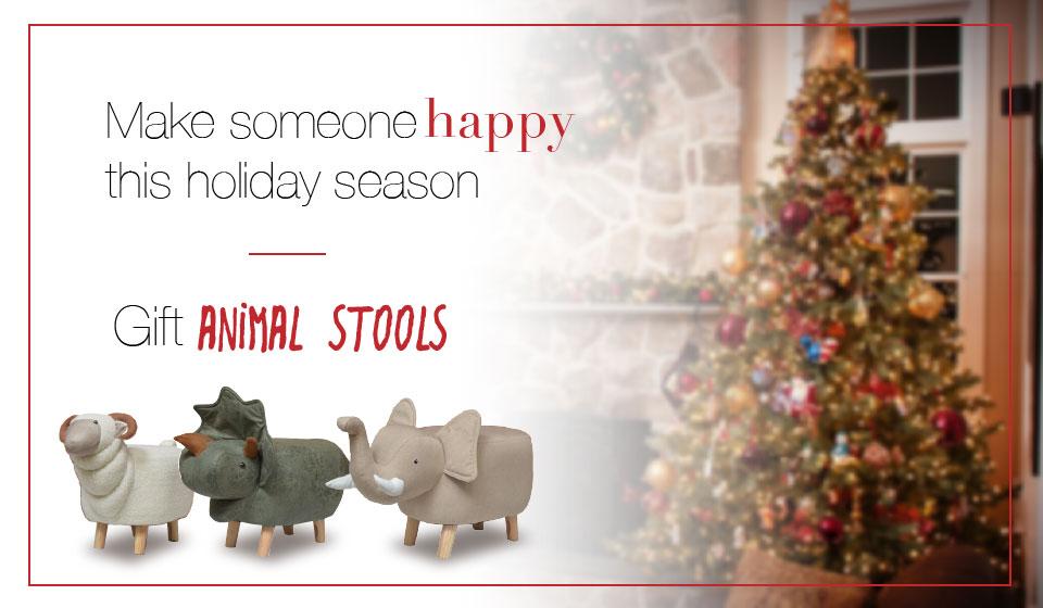 Sassafras® Animal Stools