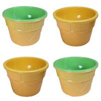 Set of 4 Ice Cream Sundae Cups