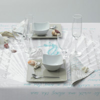 "Conchiglia 39"" Table Covers"