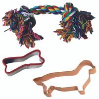 Dachshund Dog Toy Set