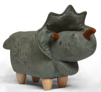 Small Triceratops Animal Stool