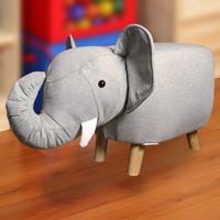 Trumpet Elephant Stool