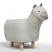 Dolly Llama Stool