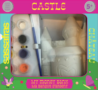 Paint Your Own Castle Bank