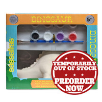 Paint Your Own Dinosaur Bank