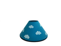 Blue Cloud Lamp Shade