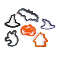 6-Piece Halloween Cookie Cutter Set